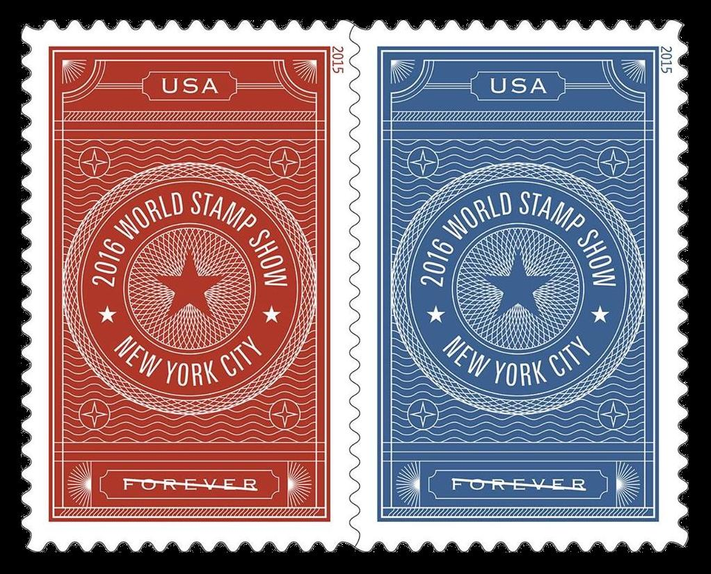 NY 2016 Commemorative Stamps