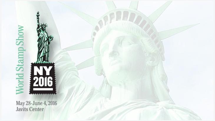 NY 2016 Stamp Show logo