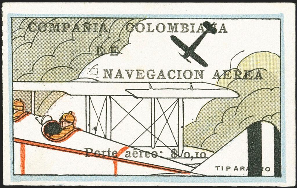 Colombia SCADTA stamp