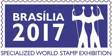 Brasilia 2017 Stamp Exhibition logo