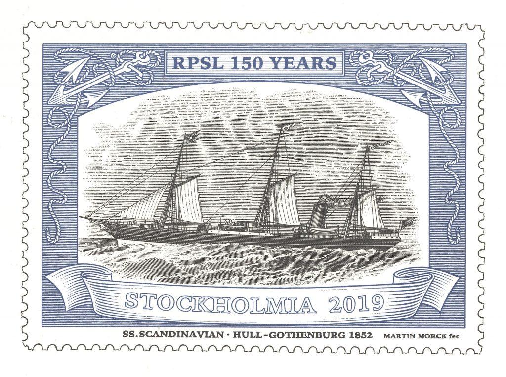 RPSL Stockholmia ship logo