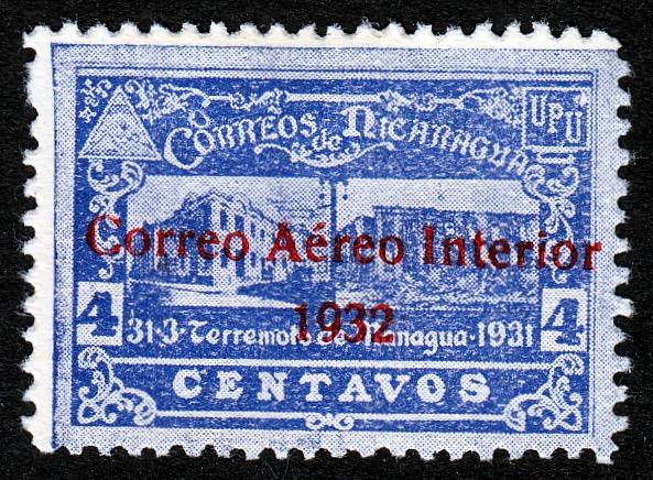 Nicaragua 1932 overprint
