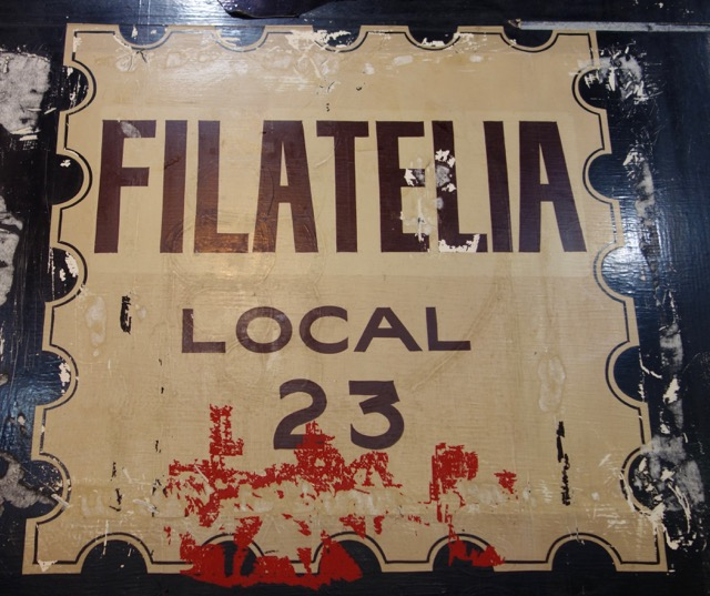 Filatelia sign Montevideo