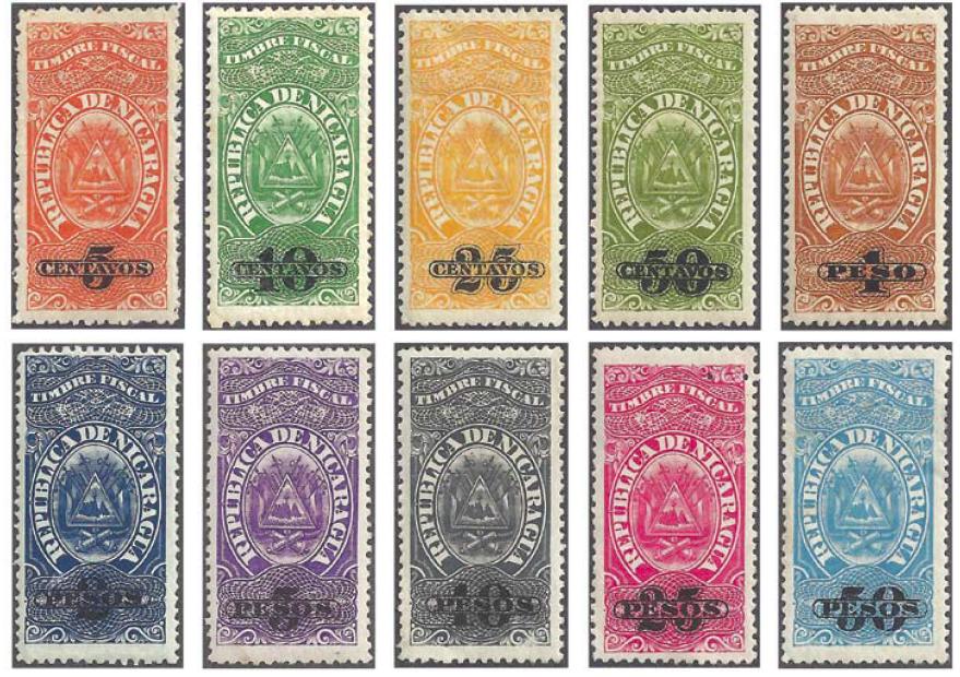 Nicaragua Revenues 1908-11