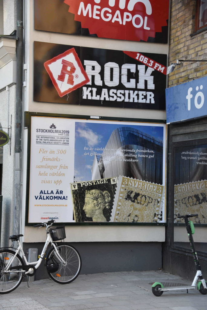 Stockholmia advertising