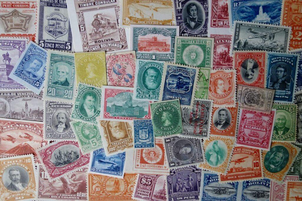 Classic Latin America stamps